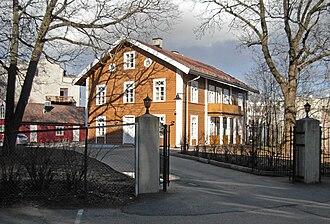 East End and West End of Oslo - Lassonløkken, also called Soenerløkken. Grønnegata 19, Homansbyen. The main building was built by Thomas Heftye in the middle 1830s.