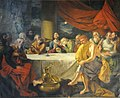 Last Supper - 1787 CE - Johann Zoffany - St Johns Church - Kolkata 2015-05-09 6650 (cropped).JPG