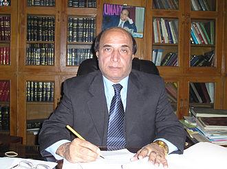 Governor of Punjab, Pakistan - Image: Latifkhosa