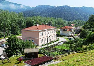 Laze pri Dolskem Place in Upper Carniola, Slovenia