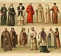 Le costume historique. Cinq cents planches, trois cents en couleurs, or et argent, deux cents en camaieu. Types principaux du vêtement et de la parure, rapprochés de ceux de l'intérieur de (14741187066).jpg