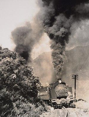 Rimutaka Incline - Passenger train at unknown date