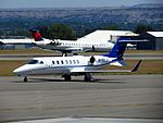 Learjet 45 at BIL.jpg