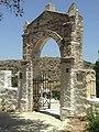 Lefkes on Paros, cemetery at church of Agia Triada, 17M3856.jpg