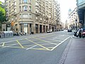 Left turn lane and keep clear zone (18766432486).jpg