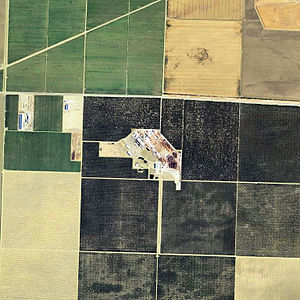 Lemoore Army Air Field - Remains of Lemoore AAF, 2006 USGS Airphoto