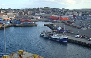 William Dyce Cay - Lerwick Harbour