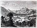 """Les merveilles de l'industrie, 1873 """"Seyssel (département de l'Ain) et les montagnes contenant le calcaire asphaltique"""" (4859290719).jpg"""
