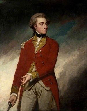 96th Regiment of Foot - Lieutenant Colonel Sir Charles Stuart, founder of the regiment, by George Romney