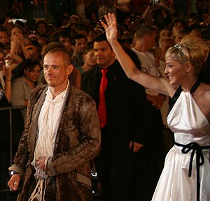 Life Ball - Gery Keszler and Sharon Stone (Life Ball 2007)