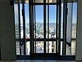 Lift lobby on level 45 of 111 Eagle Street, Brisbane.jpg