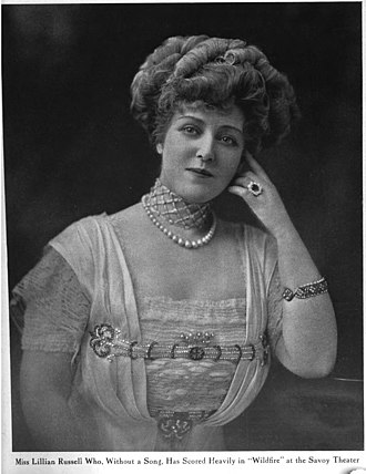Lillian Russell - Lillian Russell in Wildfire