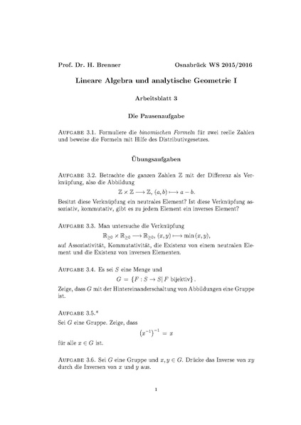 Groß Algebra 3 4 Arbeitsblatt Zeitgenössisch - Mathematik ...