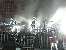 Penampilan Linkin Park di Projekt Revolution Tour Tahun 2007 di Norton, Massachusetts