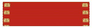 2014 Birthday Honours - Order of the Companions of Honour ribbon