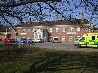 Cardiff and Vale University Health Board - Llandough Hospital main entrance