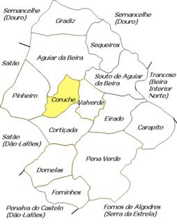 Coruche (Aguiar da Beira) Civil parish in Centro, Portugal