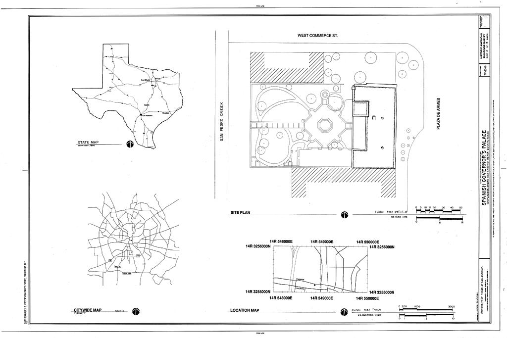 File Location Map And Site Plan Spanish Governor S