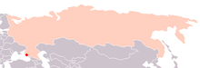 Orlyonok location in Russia