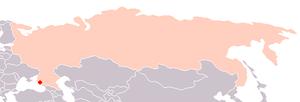 Orlyonok - Orlyonok location in Russia