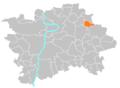 Location map municipal district Prague - Satalice.PNG