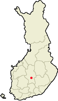 Location of Jyväskylä in Finland.png