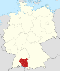 Locator map RB TÜ in Germany.svg