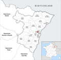 Locator map of Kanton Strasbourg-3 2019.png