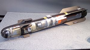 AGM-114 Hellfire - A model of a Hellfire's components