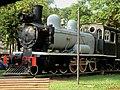 Locomotiva Phantom, popularmente chamada de Maria-fumaça, instalada na praça Francisco Schimidt, Vila Tibério em Ribeirão Preto. A locomotiva era utilizada pela Usina Amália e foi doada em 191 - panoramio.jpg