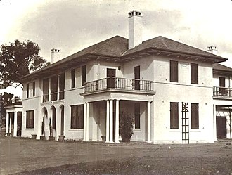 The Lodge (Australia) - The Lodge, soon after completion in 1927