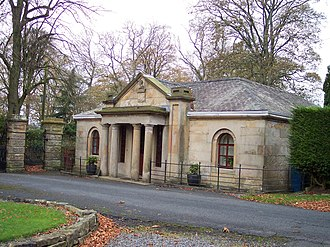 Read Hall and Park - Image: Lodge to Read Hall