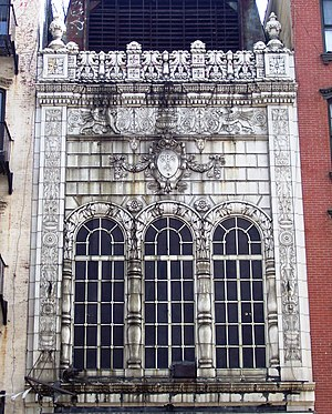 Canal Street (Manhattan) - The former Loew's Canal Street Theatre at 31 Canal Street, a New York City Landmark