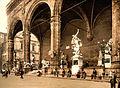 Loggia dei Lanzi, Florence, Tuscany, Italy, ca. 1897.jpg