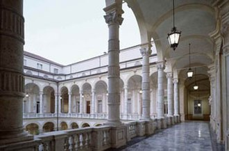 University of Turin - Hall of the Rectorate Palace of the University of Turin