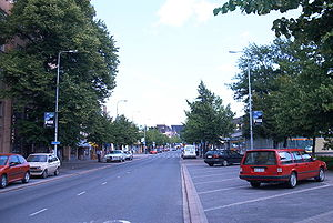 Laurinkatu street in central Lohja