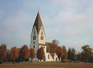 Lojsta Church - Image: Lojsta 004