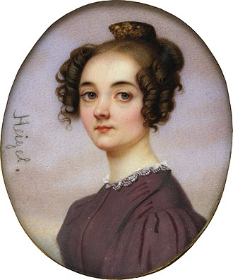 Lola Montez - Image: Lola Montez portrait by Josef Heigel before 1840