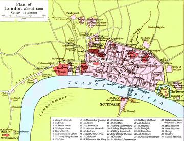 Karte London.Londonas Sitija Vikipēdija