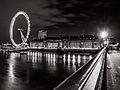 London Eye, Black and White, Night.jpg