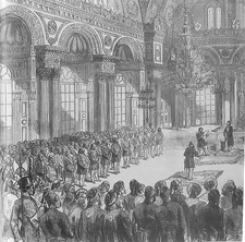 London news c1877 - scanned constantinopole(1996)-Opening of the first parlement.png