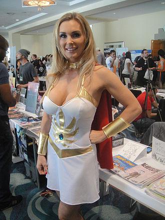 Tanya Tate - Long Beach Comic Expo 2012 as She-Ra