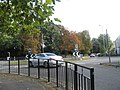 Looking from Aldershot Library across the NAAFI roundabout - geograph.org.uk - 994066.jpg
