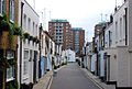 Looking south along Gloucester Place Mews, London W1 - geograph.org.uk - 1609794.jpg