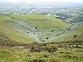 Looking west, from Offa's Dyke Path - geograph.org.uk - 1410566.jpg