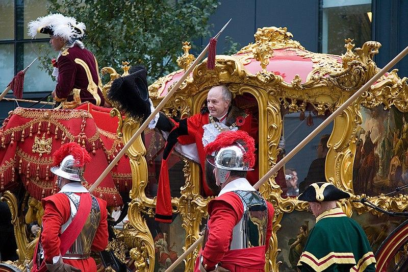 Lord Mayor of London - John Stuttard - Nov 2006.jpg