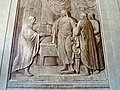Lorenzo il Magnifico che riceve il modello della villa da Giuliano da Sangallo di Luigi Catani.JPG