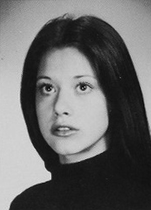 Lorraine Bracco - Bracco as a senior in high school in 1972