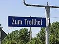 Losten Strassenschild Zum Trollhof 2010-07-18 1.JPG