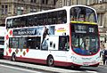 Lothian Buses bus 926 Volvo B9TL Wrightbus Eclipse Gemini 2 SN09 CVL Harlequin livery.jpg